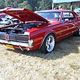 Another 67 Cougar at the show.