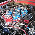 Cool intake system on this Mustang